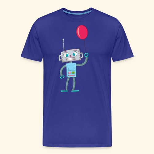 Cute Robot Kids Tees - Men's Premium T-Shirt