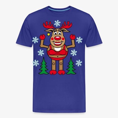 48 Madame Rudolphine Xmas - Männer Premium T-Shirt