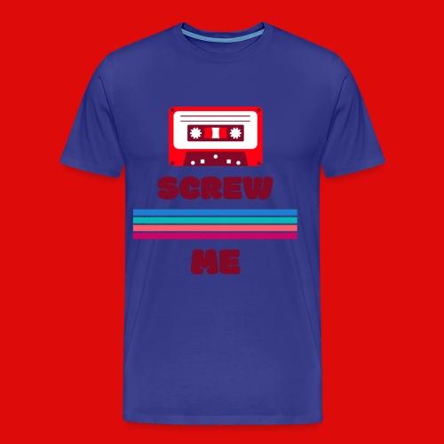 casette audio retro qui faut visé - T-shirt Premium Homme