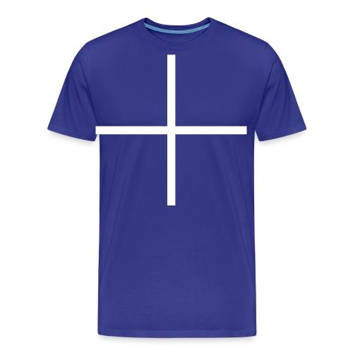 Croix Saint Michel - Soldats Français dès 1355 - T-shirt Premium Homme