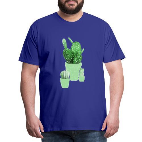 CACTUS AQUARELLE - T-shirt Premium Homme