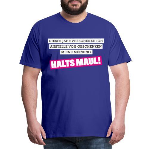 Menschenhasser Ich hasse Menschen Pulli Shirt - Männer Premium T-Shirt
