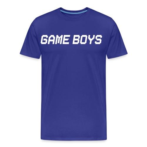 Maglietta Game Boys logo nuovo - Maglietta Premium da uomo