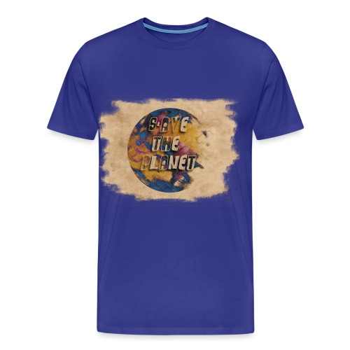 S(l)ave the planet - Männer Premium T-Shirt