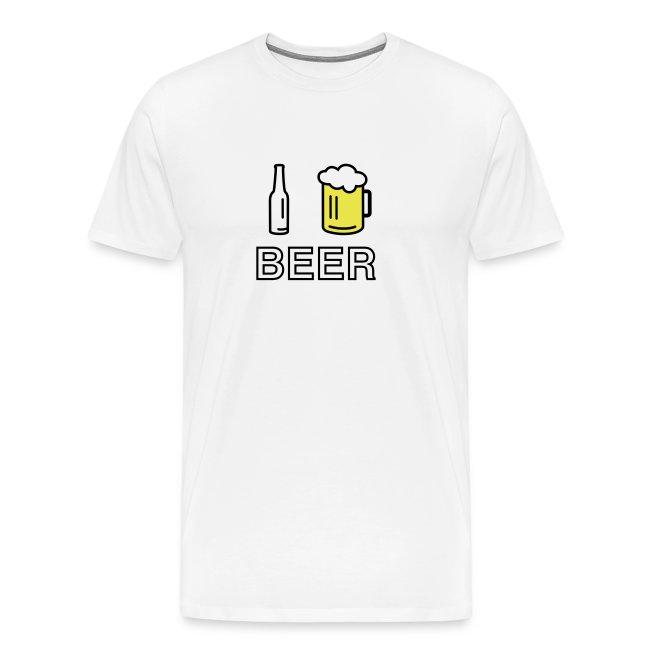 I Love Beer (3-farbig)