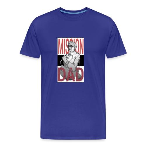 MissionDad - Maglietta Premium da uomo