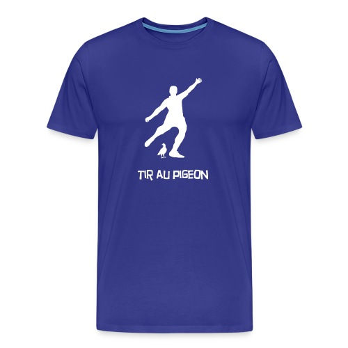 tir au pigeon png - T-shirt Premium Homme