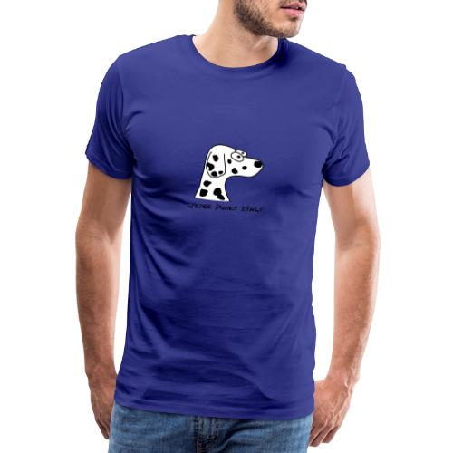 Comic-Dalmatiner - Männer Premium T-Shirt