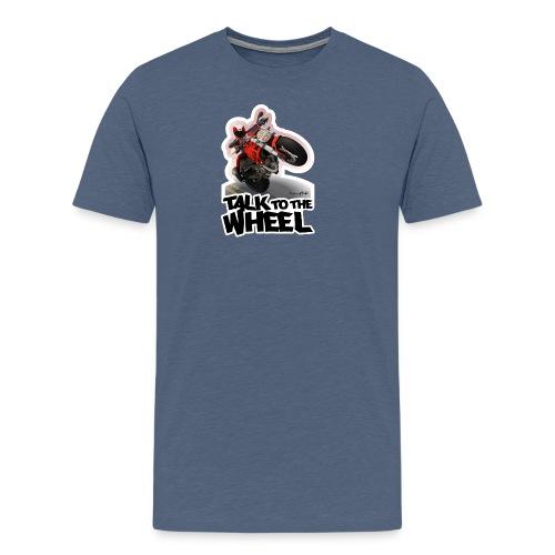 Ducati Monster Wheelie B - Camiseta premium hombre