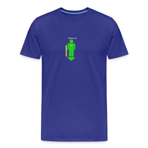 takingzone - Premium-T-shirt herr