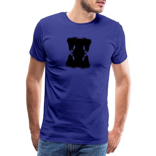Cheval cabré en ombres chinoise - T-shirt Premium Homme