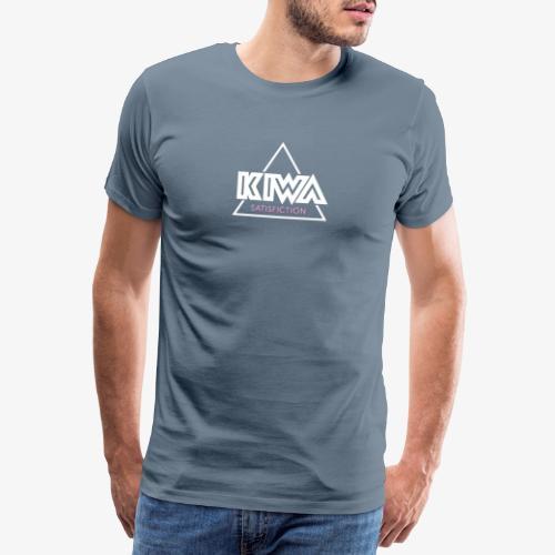 KIWA Satisfiction Logo - Men's Premium T-Shirt