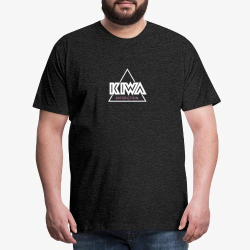 KIWA Satisfiction Logo - Men's Premium T-Shirt