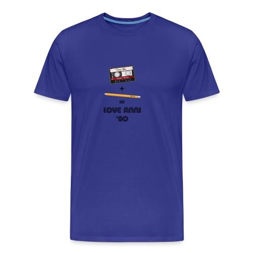 Maglietta love anni 80 - Maglietta Premium da uomo
