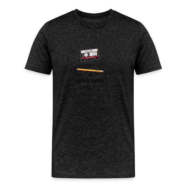 Maglietta love anni 80