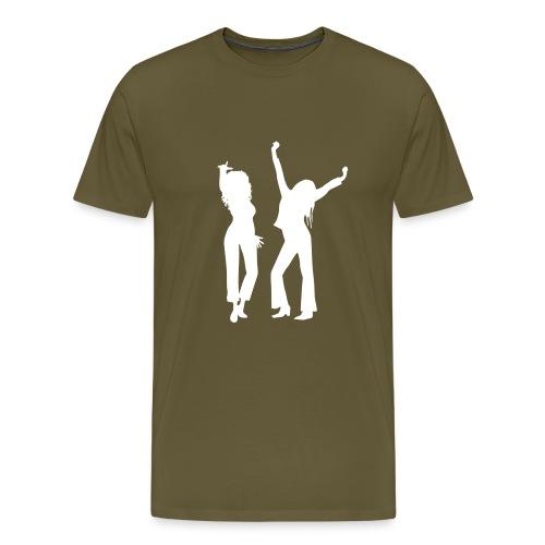 hagirlsblackv - Men's Premium T-Shirt