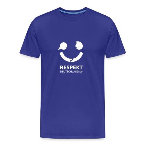 Logo Respekt Deutschland - Männer Premium T-Shirt