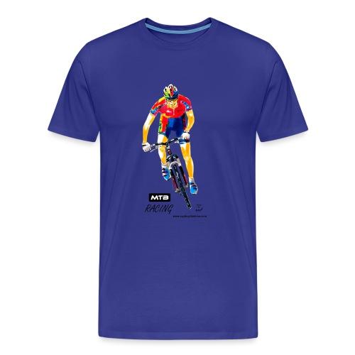 cfmtbracing1w1cf - Männer Premium T-Shirt