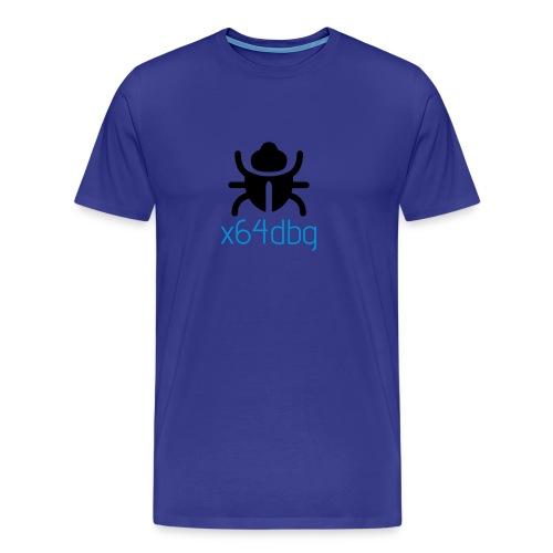 x64dbg_design_cmck - Men's Premium T-Shirt