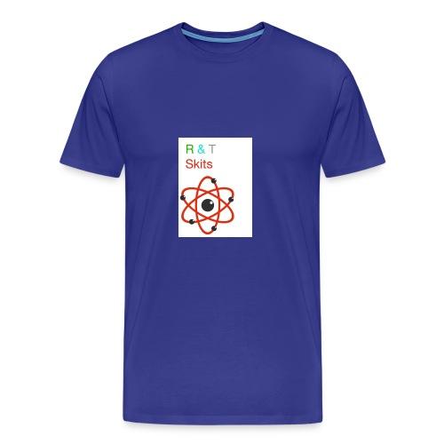 R & T skits YT channel design - Men's Premium T-Shirt