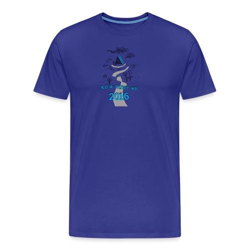 Kila runt Kil 2016 - Barn - Premium-T-shirt herr
