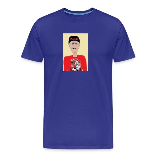 French skater DJ AM - Premium-T-shirt herr