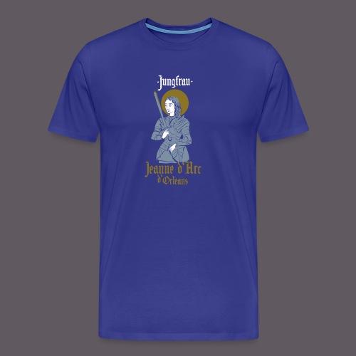 Jungfrau Jeanne d Arc de Orleans - Männer Premium T-Shirt