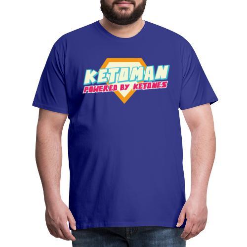 Keto Shirt Mann Diät - Männer Premium T-Shirt