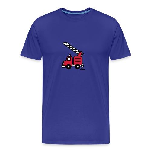 Feuerwehrauto (c) - Männer Premium T-Shirt