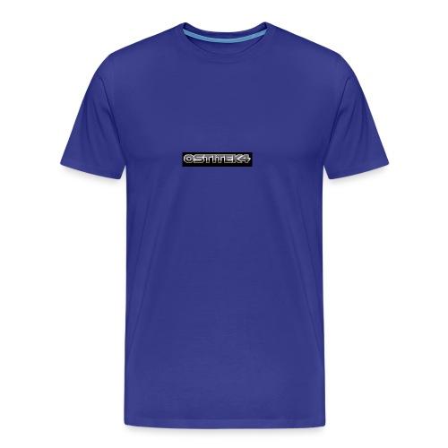 awesome font - Men's Premium T-Shirt