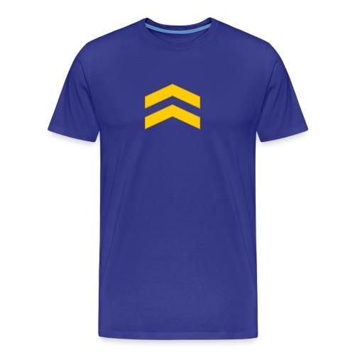 Alikersantti - Miesten premium t-paita