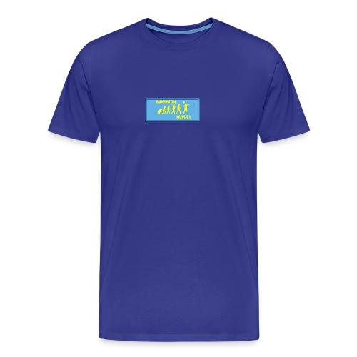 Badminton évolution - T-shirt Premium Homme
