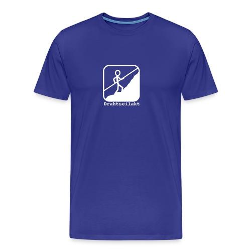 Drahtseilakt - Männer Premium T-Shirt
