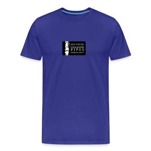DUPG Logo schwarz weiß - Männer Premium T-Shirt
