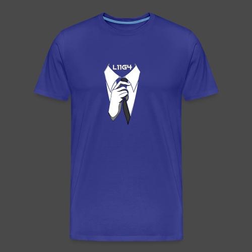 Herrasmiesten Liiga (L11G4) Fan T-Shirt - Miesten premium t-paita