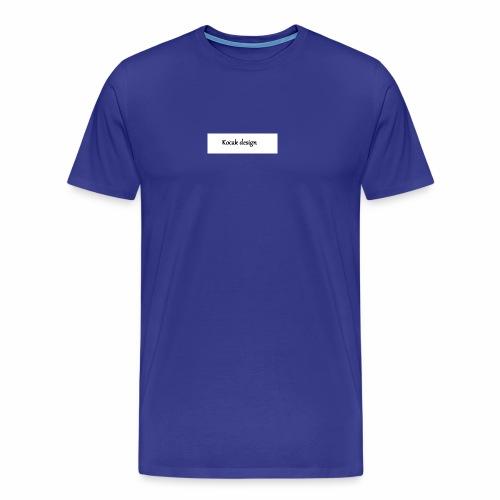 Kocak design - Herre premium T-shirt