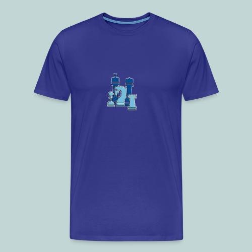 figurengruppeblau2kanten - Männer Premium T-Shirt