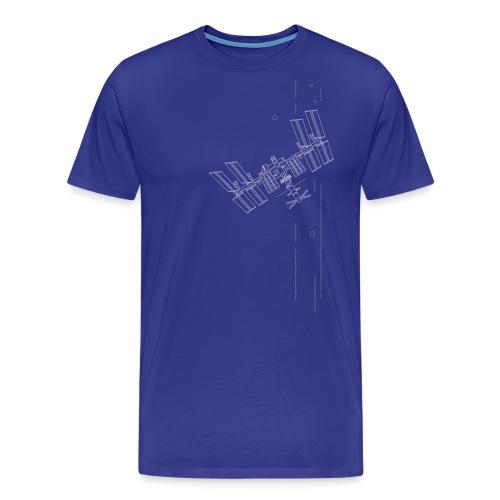Iss inspiriertes Raumschiff - Männer Premium T-Shirt