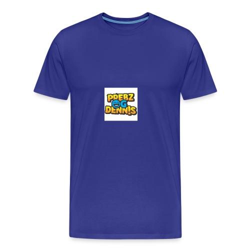 Prebz og dennis logo - Premium T-skjorte for menn