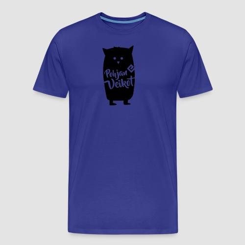 Veikko-pöllö - Miesten premium t-paita