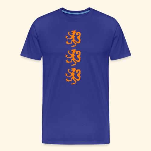 Heraldische leeuw - Mannen Premium T-shirt