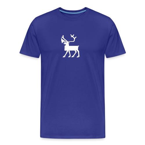 geokx_1c_tromso - Premium T-skjorte for menn