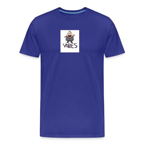 BossVibes version 3 - Herre premium T-shirt