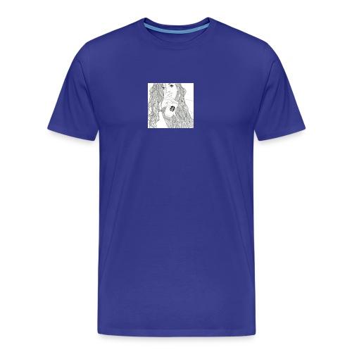 Girl - Herre premium T-shirt