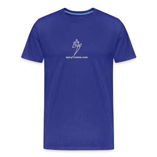 logo monochrome - T-shirt Premium Homme