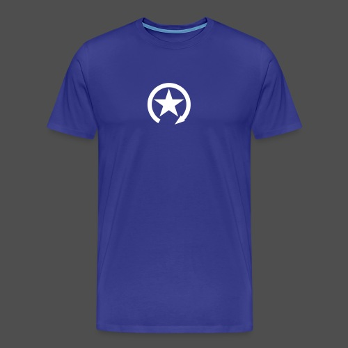 LOGO ZMIANY PRZEŁĄCZNIKA - Koszulka męska Premium