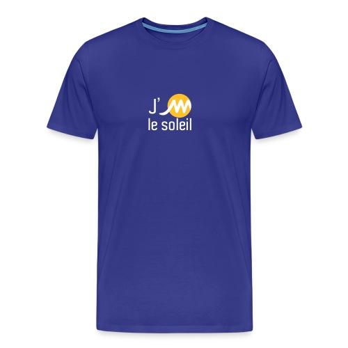 jMsoleilblancjaune - T-shirt Premium Homme