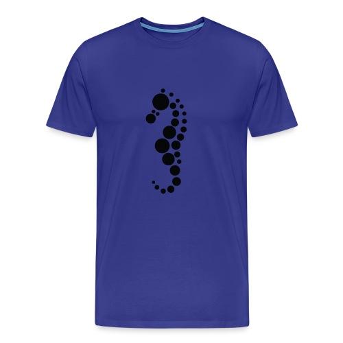 merihevonen - Miesten premium t-paita