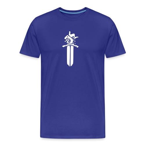 Sotilaspoliisi - valkoinen - Miesten premium t-paita