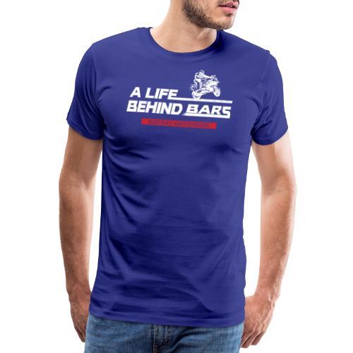 ABT White Reverse - Men's Premium T-Shirt